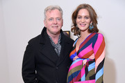 "Aidan Quinn and Felicity Blunt attend the ""Final Portrait"" New York Screening After Party at Levy Gorvy Gallery on March 22, 2018 in New York City."