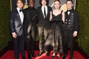 Finn Wolfhard 75th Annual Golden Globe Awards - Executive Arrivals