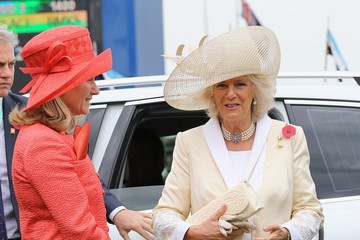 Fiona Burn The Prince Of Wales And Duchess Of Cornwall Visit Australia - Day 2