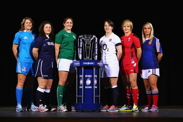 Fiona Coghlan RBS Six Nations Launch