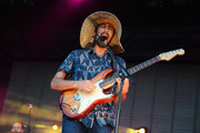 Eric Cannata of Young The Giant performs onstage during day 2 of the Firefly Music Festival on June 20, 2014 in Dover, Delaware.