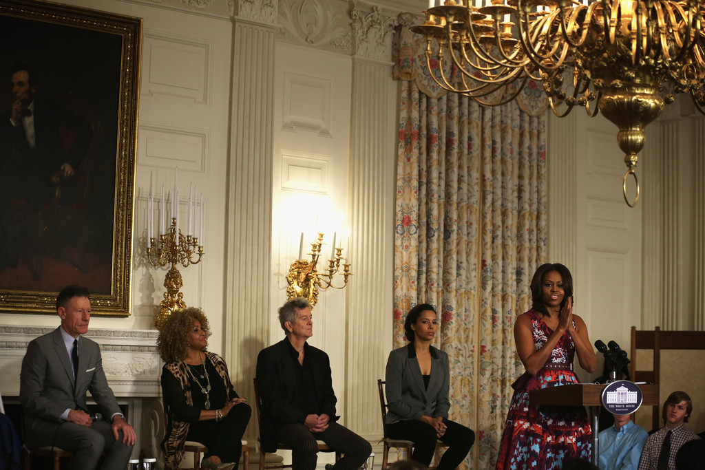 First lady hosts gospel music workshop at white house zimbio for Gospel house music