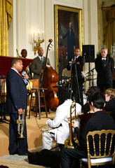 Eric Revis First Lady Michelle Obama Hosts Jazz Studio At White House