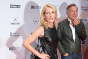 Maria Furtwaengler and Nico Hoffmann attend the First Steps Awards 2015 at Stage Theater on September 14, 2015 in Berlin, Germany.