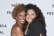 """Actresses Ryan Michelle Bathe (L) and Michelle Buteau attend the """"First Wives Club"""" event during the 2019 Tribeca TV Festival at Regal Battery Park Cinemas on September 12, 2019 in New York City."""