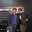 Fisher Stevens Roger Gastman And LL COOL J Host BEYOND THE STREETS Opening Night At 25 Kent