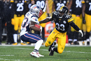 Fitzgerald Toussaint New England Patriots vPittsburgh Steelers