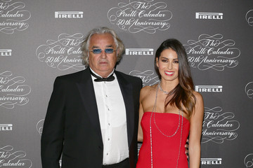 Flavio Briatore Arrivals at the Pirelli Calendar 50th Anniversary Event