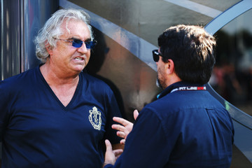 Flavio Briatore F1 Grand Prix of Italy  - Qualifying