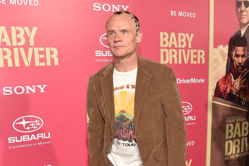 Flea Premiere of Sony Pictures' 'Baby Driver' - Red Carpet