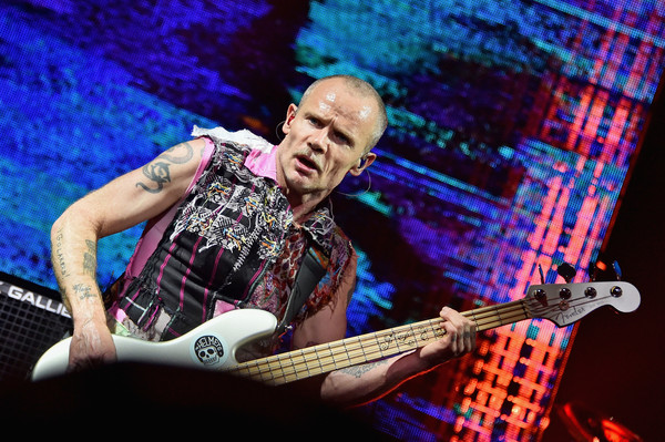 flea photos photos red hot chili peppers in concert new york city zimbio. Black Bedroom Furniture Sets. Home Design Ideas