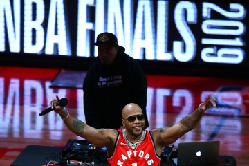 Flo Rida 2019 NBA Finals - Game Two