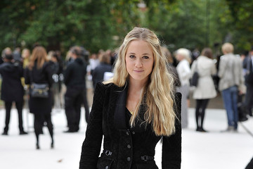 Florence Brudenell-Bruce Burberry Spring Summer 2013 Womenswear Show - Arrivals