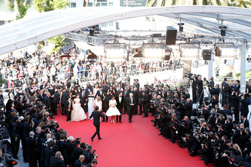 """Florence Foresti Laurent Lafitte """"The Little Prince"""" Premiere - The 68th Annual Cannes Film Festival"""
