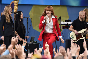 Florence Welch Florence and the Machine on ABC's 'Good Morning America'