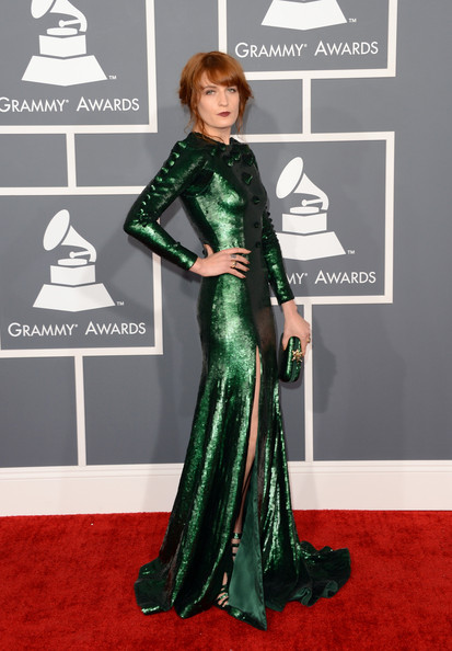 Florence Welch - The 55th Annual GRAMMY Awards - Arrivals