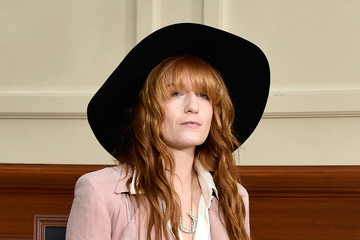 Florence Welch Front Row at Chanel