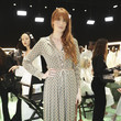 Florence Welch Gucci - Arrivals at Backstage - Milan Fashion Week Fall/Winter 2020/21