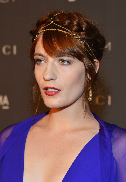 Florence Welch - LACMA 2012 Art + Film Gala Honoring Ed Ruscha And Stanley Kubrick Presented By Gucci - Red Carpet