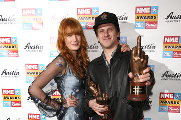 Florence Welch NME Awards - Winners Room