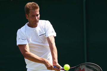 Florian Mayer Day Two: The Championships - Wimbledon 2018