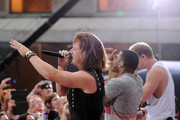 """(L-R) Tyler Hubbard, Nelly and Brian Kelley perform on NBC's """"Today"""" Labor Day Concert at the NBC's TODAY Show on September 2, 2013 in New York, New York."""