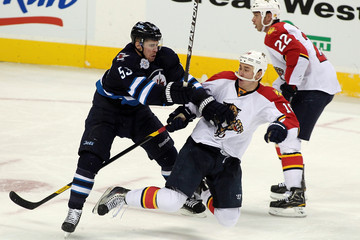 Brett Festerling Florida Panthers v Winnipeg Jets