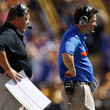 Will Muschamp and Charlie Weis Photos