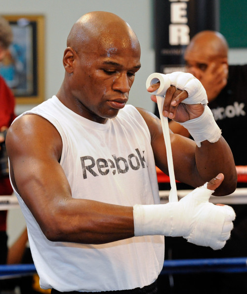 Floyd Mayweather Jr Workout Session