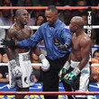 Floyd Mayweather Jr. and Andre Berto Photos
