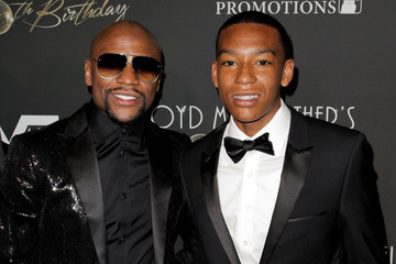 Floyd Mayweather Floyd Mayweather's 40th Birthday Celebration - Arrivals