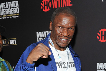 Floyd Mayweather Sr Pre-Fight Party For Mayweather v Guerrero Title Fight At The MGM Grand