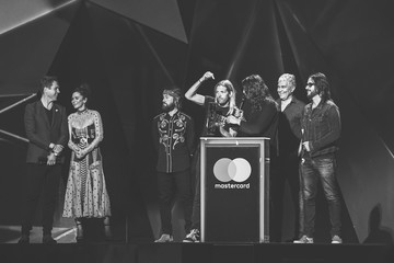 Foo Fighters The BRIT Awards 2018 - Alternative View