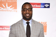 NFL player and Food Bank ambassador Chris Canty attends the Food Bank Of New York City's Can Do Awards 2016 hosted by Michael Strahan and Mario Batali at Cipriani Wall Street on April 20, 2016 in New York City.