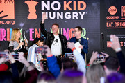 (L-R) Amanda Freitag, Maneet Chauhan, Marc Murphy and Ted Allen onstage during Sunday Brunch hosted by Marc Murphy and Devour Power at Pier 97 on October 13, 2019 in New York City.