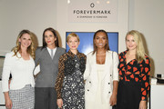 (L-R)  Dr. Niamey Wilson, Cristina Ehrlich, Michelle Williams, Janet Mock and Sophie Elgort attend Forevermark Diamonds Females In Focus Photo Exhibition Event on December 6, 2018 in New York City.
