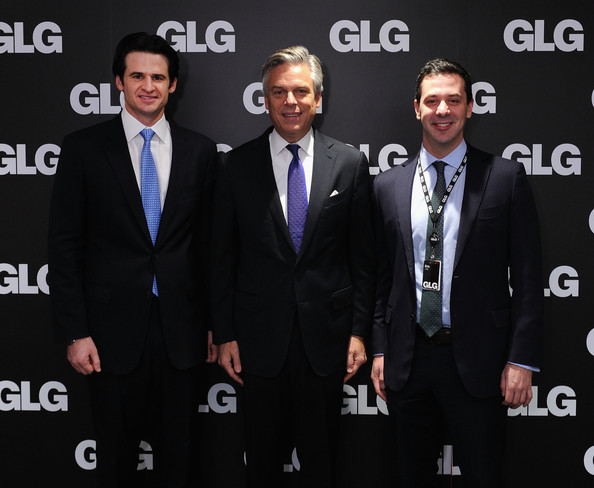 Eric Jaffe in Jon Huntsman Visits Gerson Lehrman Group - Zimbio