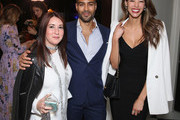(L-R) Elizabeth Mitchell, Omar Mangalji and Emi Renata attends The Foundation for Living Beauty Dinner Under the Stars on May 19, 2018 in Beverly Hills, California.