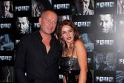 (R-L)  Kierston Wareing and Sean Pertwee attends the UK premiere of 'Four' at The Empire Cinema on October 10, 2011 in London, England.
