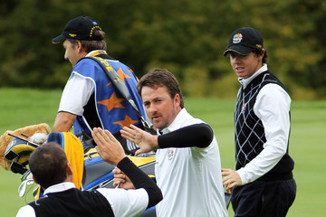 Sergio Garcia Rory McIlroy Fourball & Foursome Matches-2010 Ryder Cup