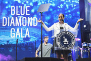 Andrea Fiuczynski attends the Fourth Annual Los Angeles Dodgers Foundation Blue Diamond Gala at Dodger Stadium on June 11, 2018 in Los Angeles, California.
