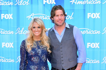 """Mike Fisher Carrie Underwood Fox's """"American Idol 2012"""" Finale - Results Show - Arrivals"""