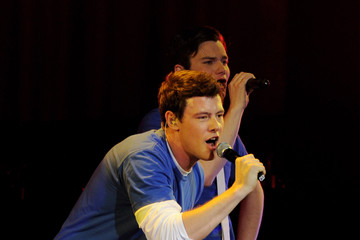 """Chris Colfer Cory Monteith Fox's """"Glee"""" Live 2010 At The Gibson Amphitheater"""