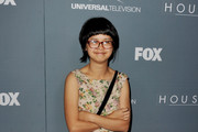 "Actress Charlyne Yi arrives at Fox's ""House"" series finale wrap party at Cicada on April 20, 2012 in Los Angeles, California."