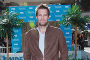 "Actor Geoff Stults attends Fox's ""The Finder"" Challenge at Hollywood & Highland Courtyard on January 9, 2012 in Hollywood, California."