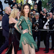Frédérique Bel 'Ismael's Ghosts (Les Fantomes d'Ismael)' and Opening Gala Red Carpet Arrivals - The 70th Annual Cannes Film Festival