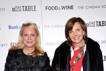 """Frances Schultz Bank Of America And Food & Wine With The Cinema Society Present A Screening Of """"A Place At The Table"""" - Arrivals"""