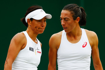 Francesca Schiavone Day Three: The Championships - Wimbledon 2015