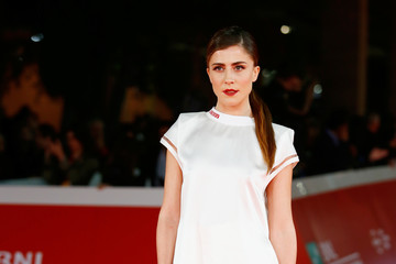 Francesca Valtorta Opening Ceremony and 'Hostiles' Red Carpet - 12th Rome Film Fest