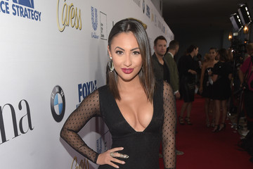 Francia Raisa Latina Media Ventures Hosts Latina 'Hot List' Party - Red Carpet